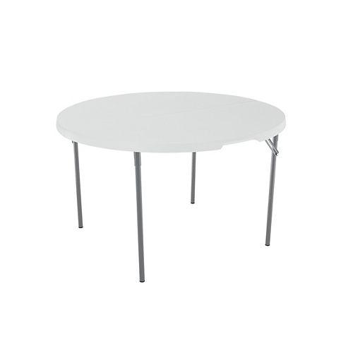 Table ronde pliable de 48 po (121,92 cm)
