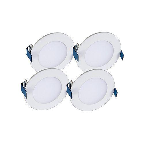 4 inch Round LED Blade w/CCT 4PK