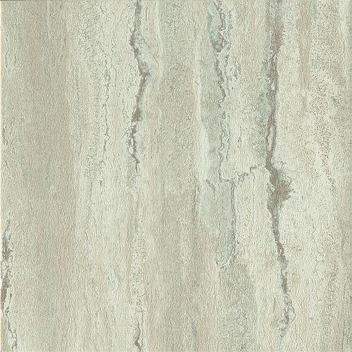 30,4 cm x 30,4 cm Gris romain travertin Carreau en vinyle 1,85 m2 par boite