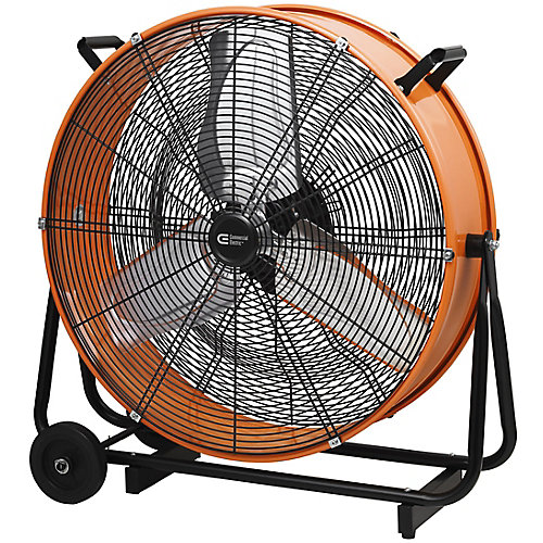 24-inch 2-Speed Drum Fan