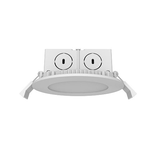 4' downlight plat 8.5W 500LM 36000H 30K ES DIM 1 pack