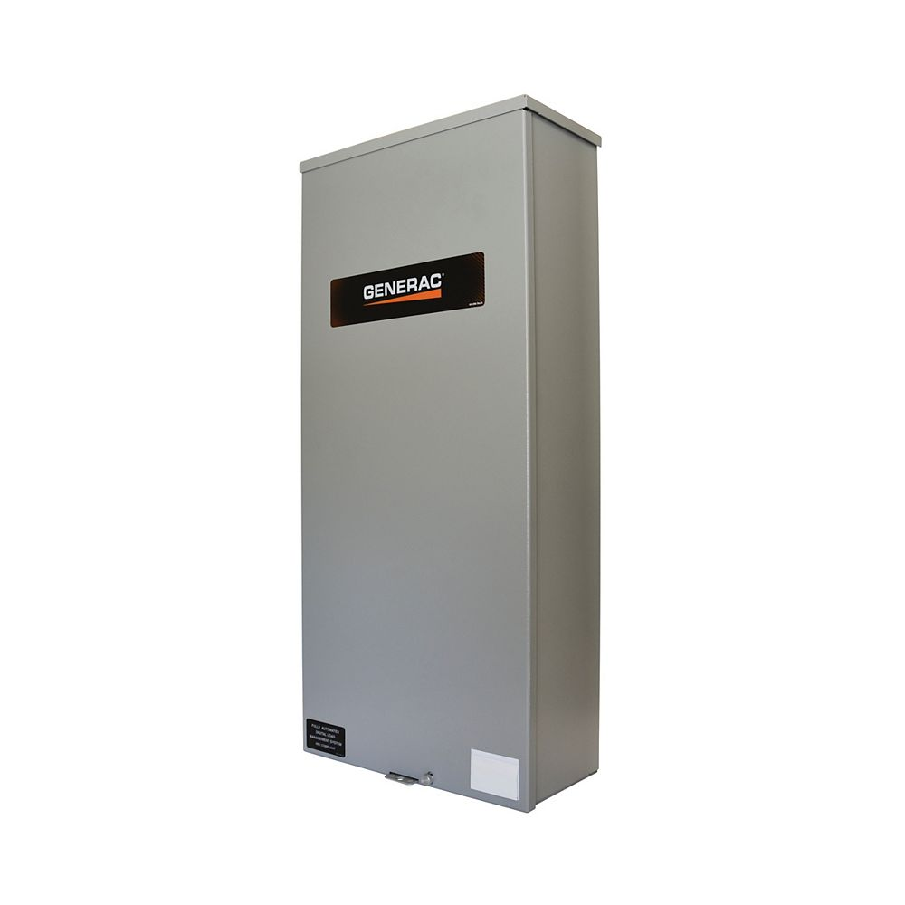 Generac Canadian Service Entrance Rated 200 Amp Single-Phase Automatic Transfer Switch