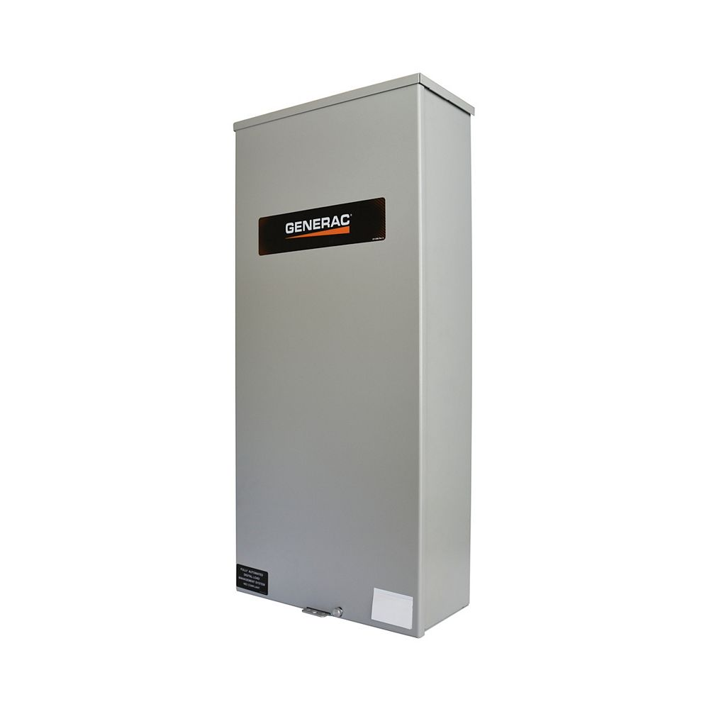 Generac Canadian Service Entrance Rated 100 Amp Single-Phase Automatic Transfer Switch