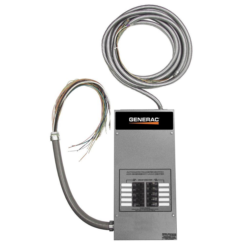 Generac 16-circuit 100 Amp Load Center ATS - NEMA 1 CUL