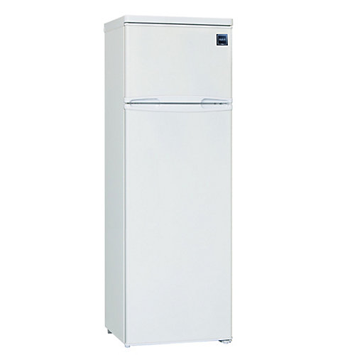 10 cu. ft. Refrigerator with Manual Defrost - White
