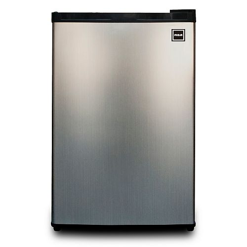 4.5 cu. ft. Compact Fridge - Stainless Steel