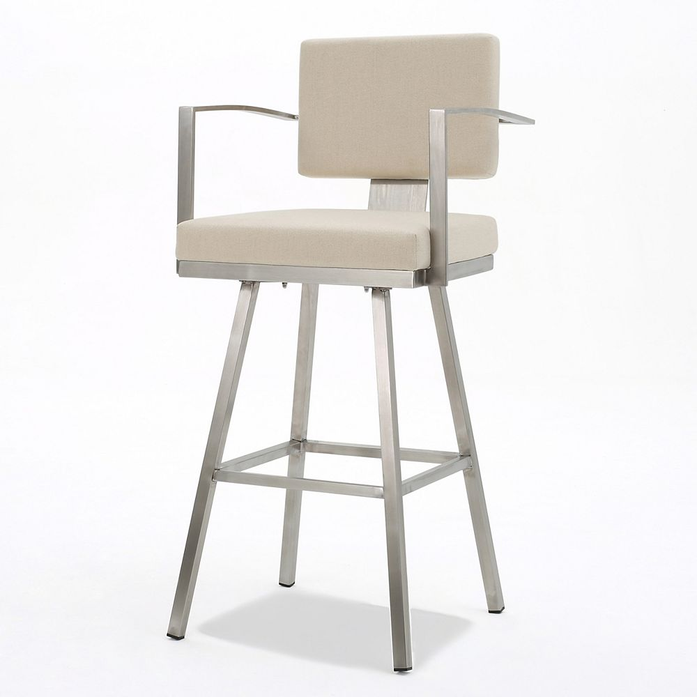 Great Deal Furniture Bora Single Modern Barstool