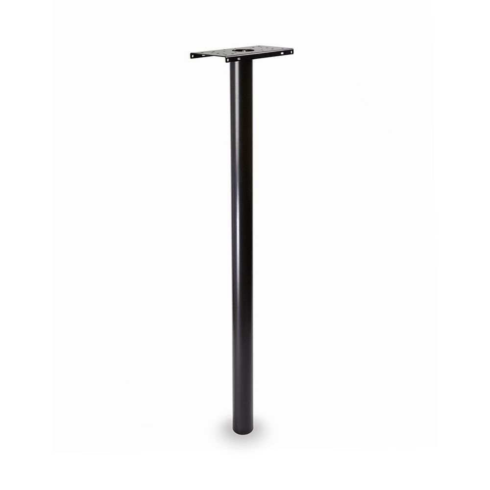 Architectural Mailboxes Pacifica Post Round 3 inch. In Ground Black 53 inch.