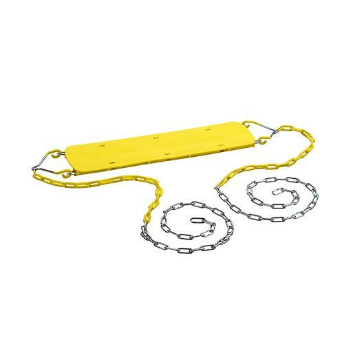 Creative Cedar Designs Beginner Swing Seat w/Chains- Yellow