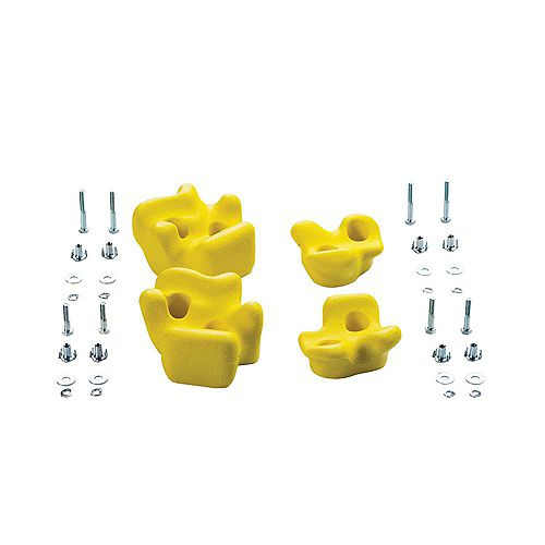 Playset Climbing Rocks (set of 4)- Yellow