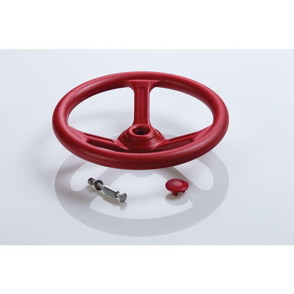 Creative Cedar Designs Playset Steering Wheel- Red