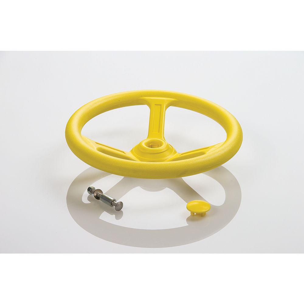 Creative Cedar Designs Playset Steering Wheel- Yellow