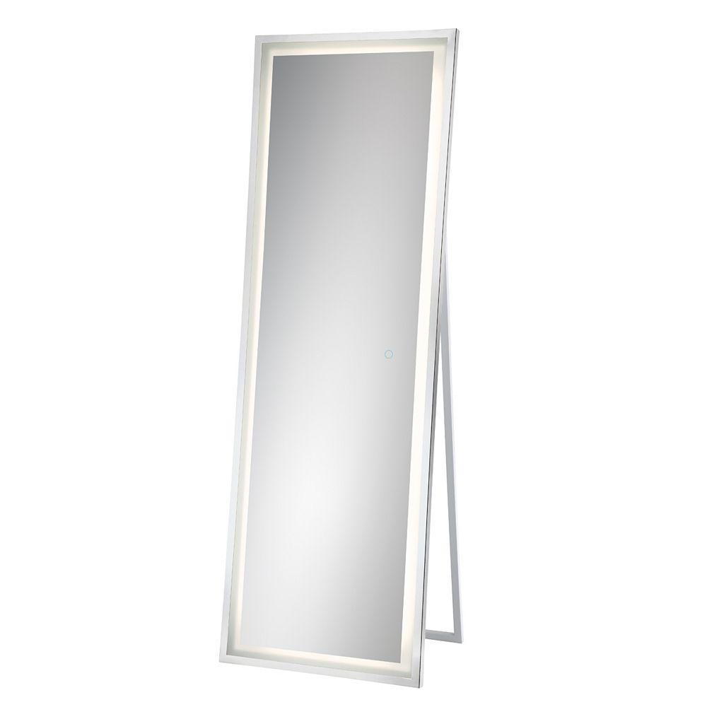 Eurofase Miroir autonome Back-Lit (à rétroéclairage), cadre chrome - 31855-013
