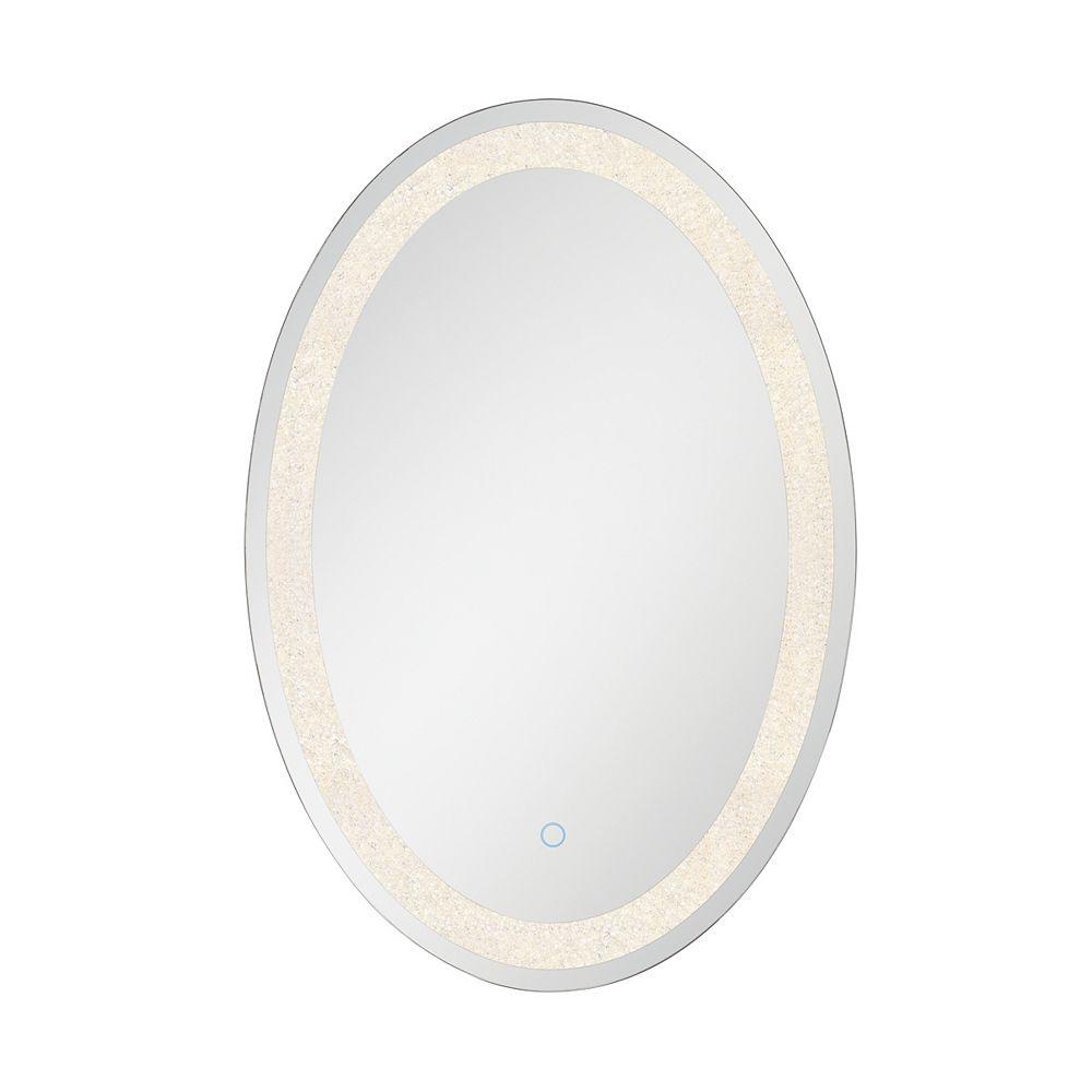 Eurofase Crystal Back Lit LED Oval Mirror - 33823-010