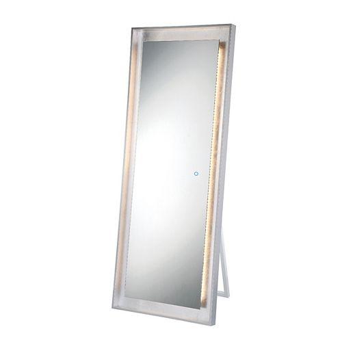 Miroir autonome à bord illuminé à DEL à feuille d'argent - 33834-016