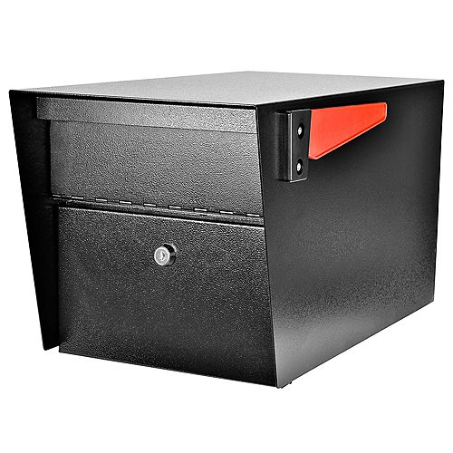 Mail Boss Mail Manager High Security Locking Mailbox, Black