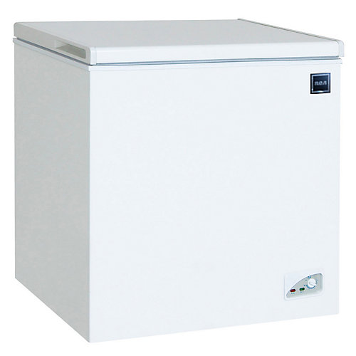 3.5 cu. ft. Compact Chest Freezer - White