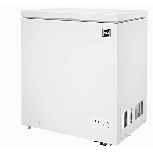 5.1 cu. ft. Compact Chest Freezer - White