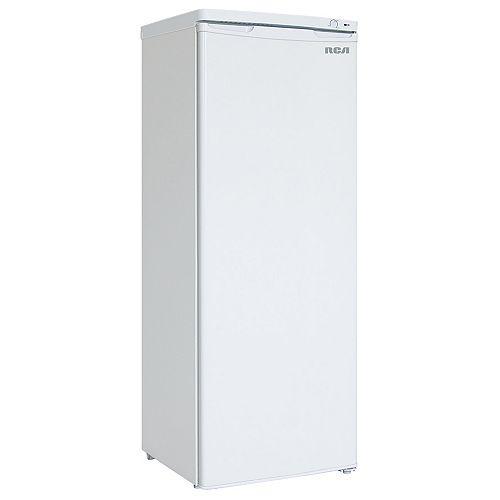 Congélateur vertical compact, 6,5 pi3, blanc