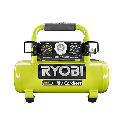 18V ONE+ Cordless 1 Gal. Portable Air Compressor (Tool Only)