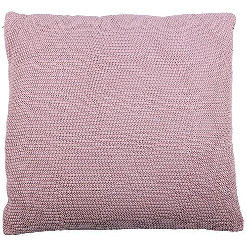 28-inch x 28-inch Maroon Moss Stitch Floor Pillow
