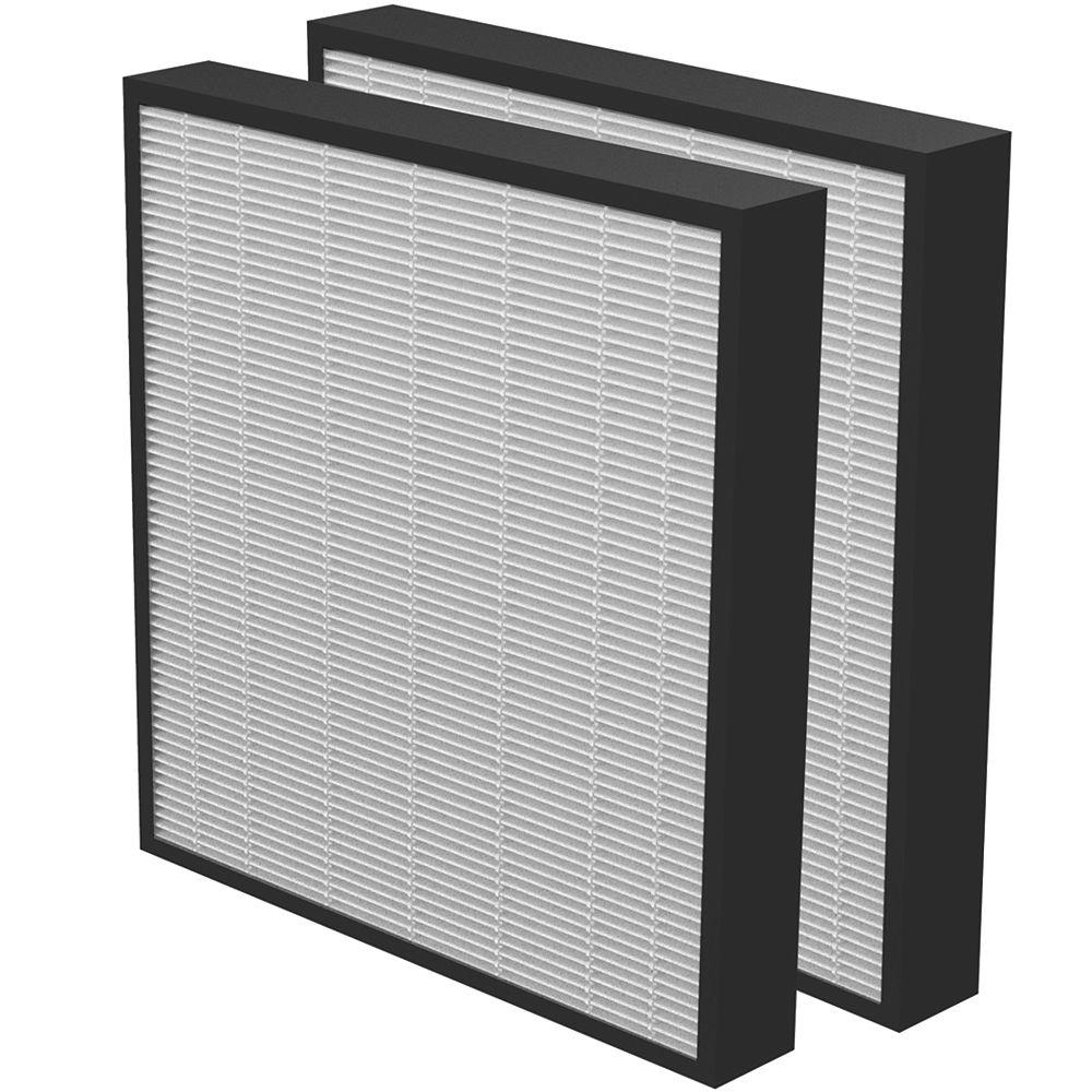 Aeramax PRO True HEPA 2 inch Filter - (2-Pack)