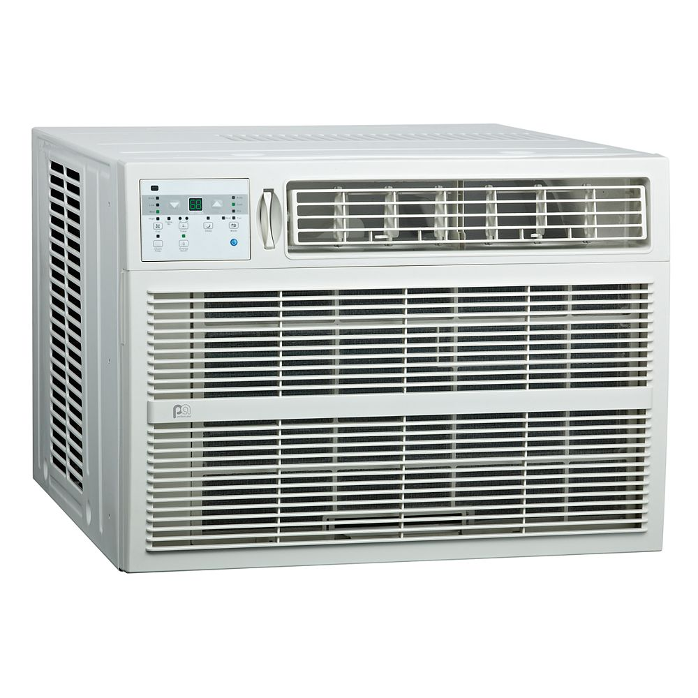 Perfect Aire 18,000 BTU Window Air Conditioner with Electric Heater for 1,000 sq. ft. Space