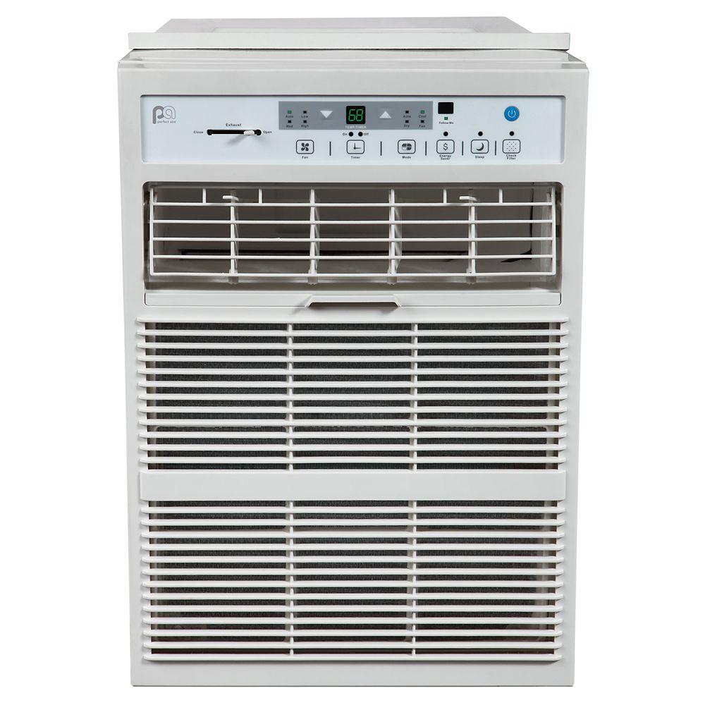 Perfect Aire 10,000 BTU Casement Slider Window Air Conditioner 450 sq. ft. Room