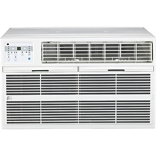 12,000 BTU Thru-the-Wall Air Conditioner with Electric Heater