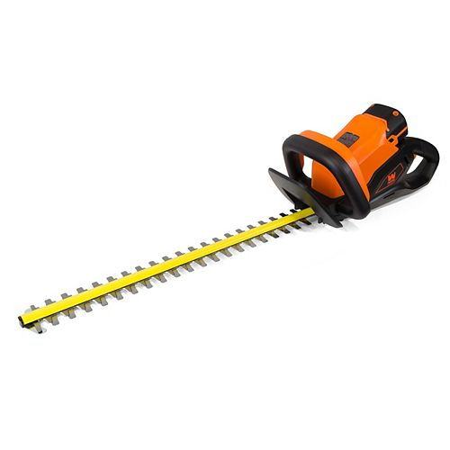 40-Volt Max Lithium-Ion 24 inch Cordless Hedge Trimmer with 2Ah Battery and Charger