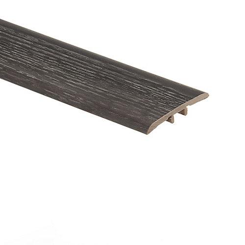 Moulure en T en vinyle de 5/16 po d'épaisseur x 1 3/4 po de largeur x 72 po de longueur, Chêne Brooks Range