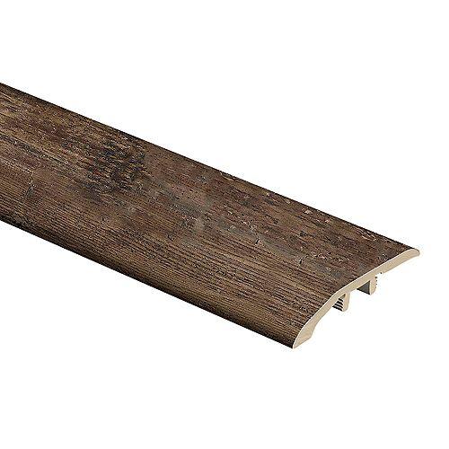 Ultra Wide Normandy Oak Natural 0.30 x 1.75 x 72-inch Vinyl Reducer Molding