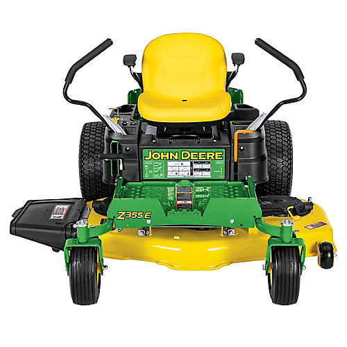 Z355E 48 inch 22 HP Dual Hydrostatic Gas Zero-Turn Riding Mower