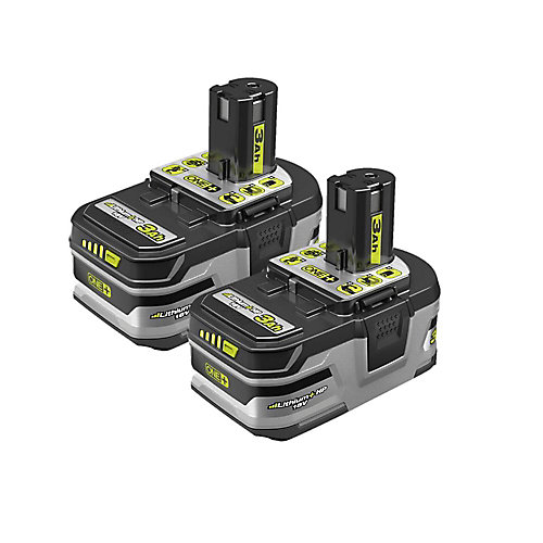 18V ONE+ LITHIUM+ HP 3.0 Ah High Capacity Battery (2-Pack)
