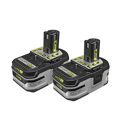 18V ONE+ LITHIUM+ HP 4.0 Ah High Capacity Battery (2-Pack)