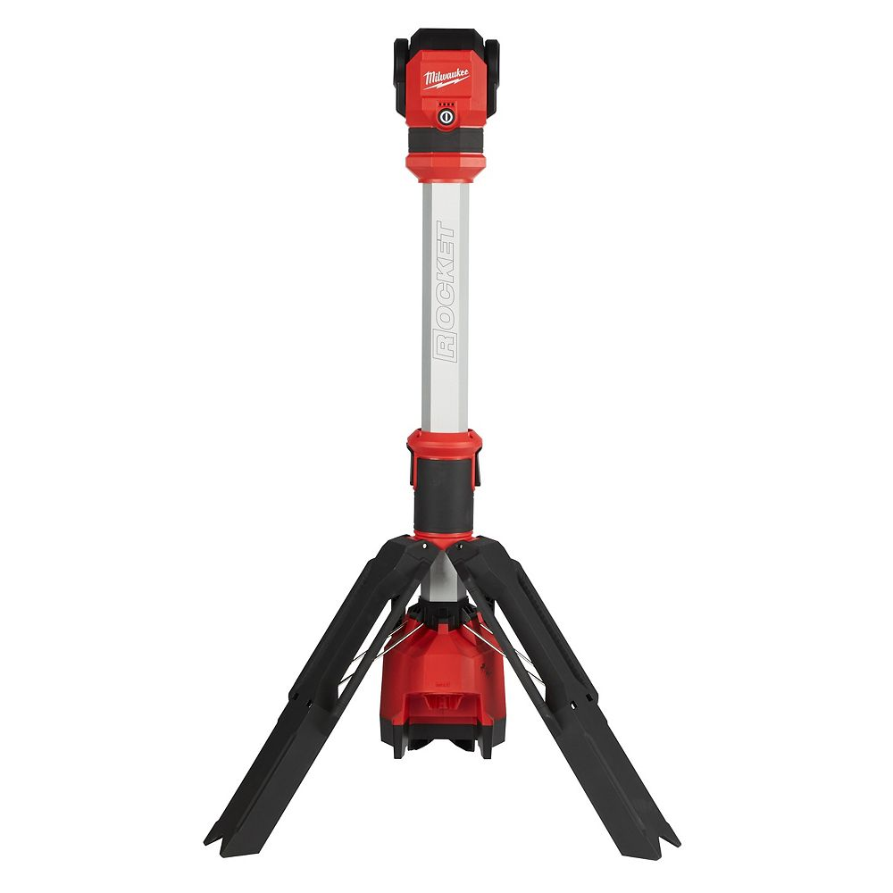 Milwaukee Tool M12 12V Lithium-Ion Cordless 1400 Lumen ROCKET LED Stand Portable Work Light 2132-20