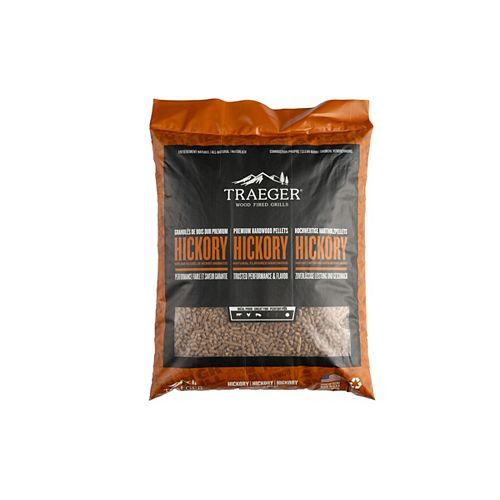 Granules de bois de hickory, 20 lb