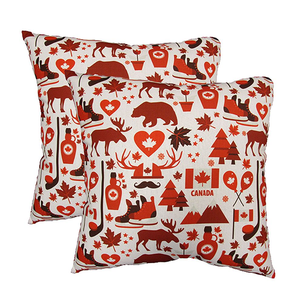 HFI 200 inch x 200 inch Canada Love Pillow 20 Pack   The Home Depot ...