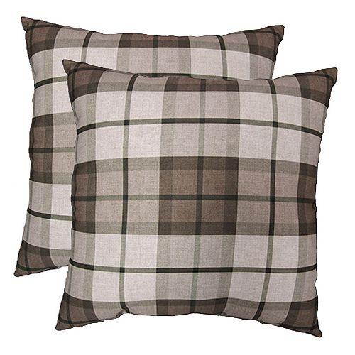Pillow - 20x20 Large Buffalo Plaid (2-Pack)