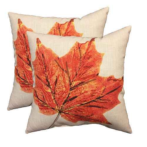 Pillow - 20x20 Maple Leaf (2-Pack)
