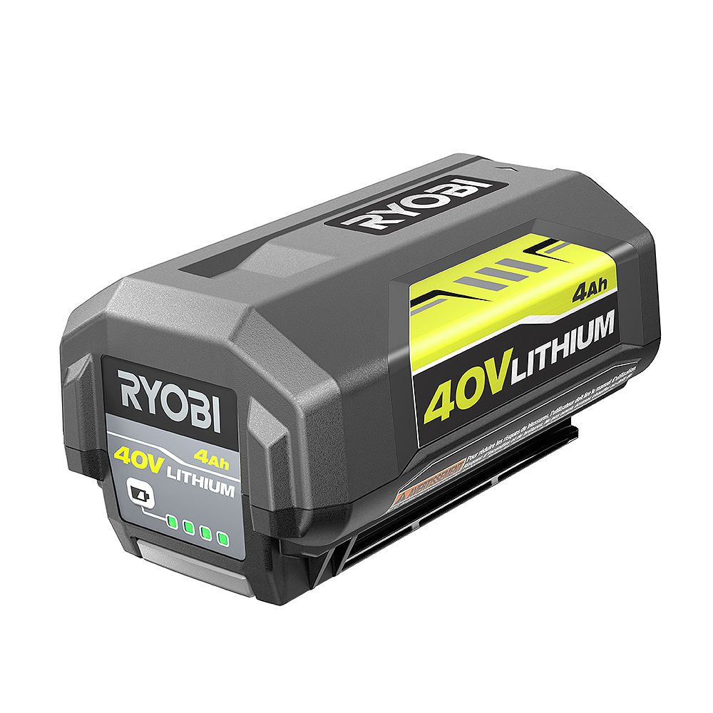 RYOBI 40V Lithium-Ion 4 Ah High Capacity Battery