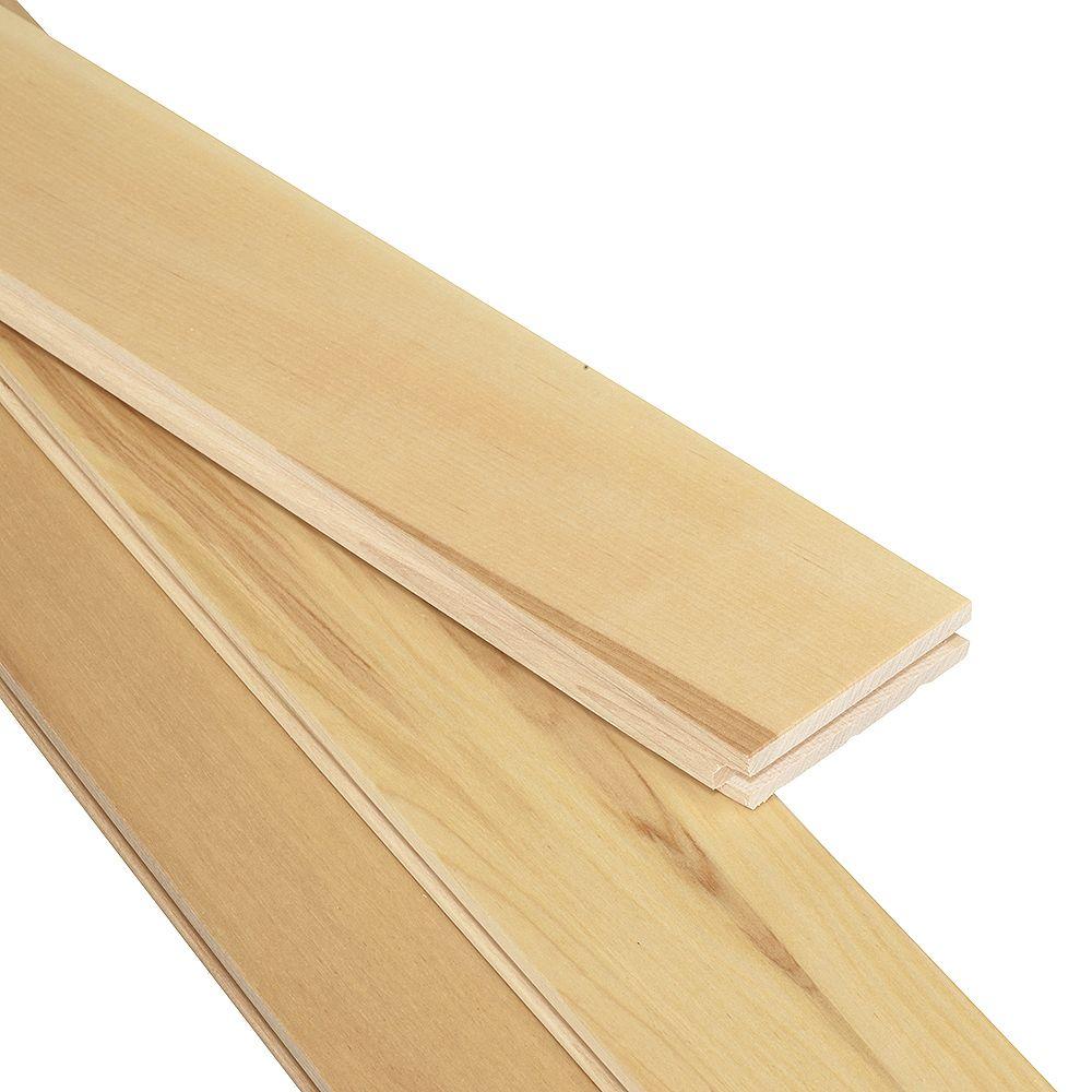 Mono Serra Birch Natural 3/4-inch T x 3 1/4-inch W x Varying Length Solid Hardwood Flooring (20 sq. ft. / case)