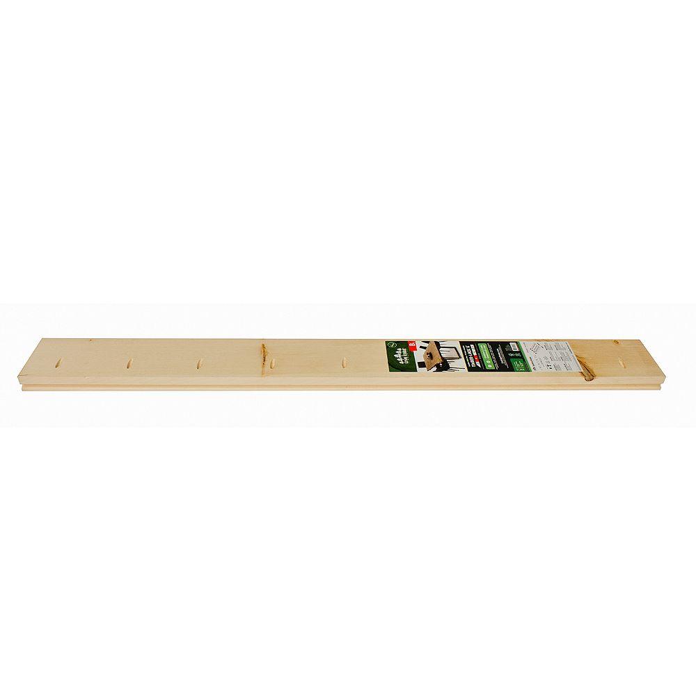 Live Edge Timber Co. Timber-Lock Centre Piece B1 - White Pine