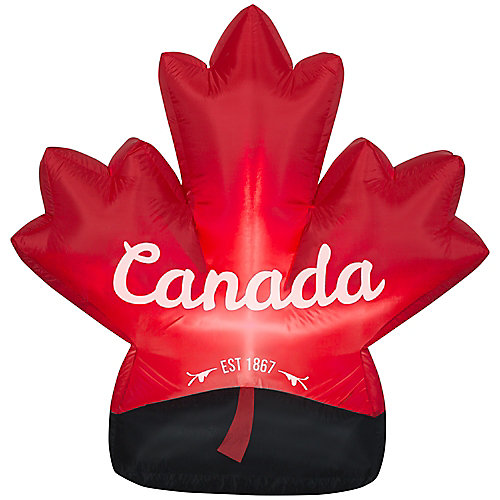 Canada Day Maple Leaf Airblown Inflatable