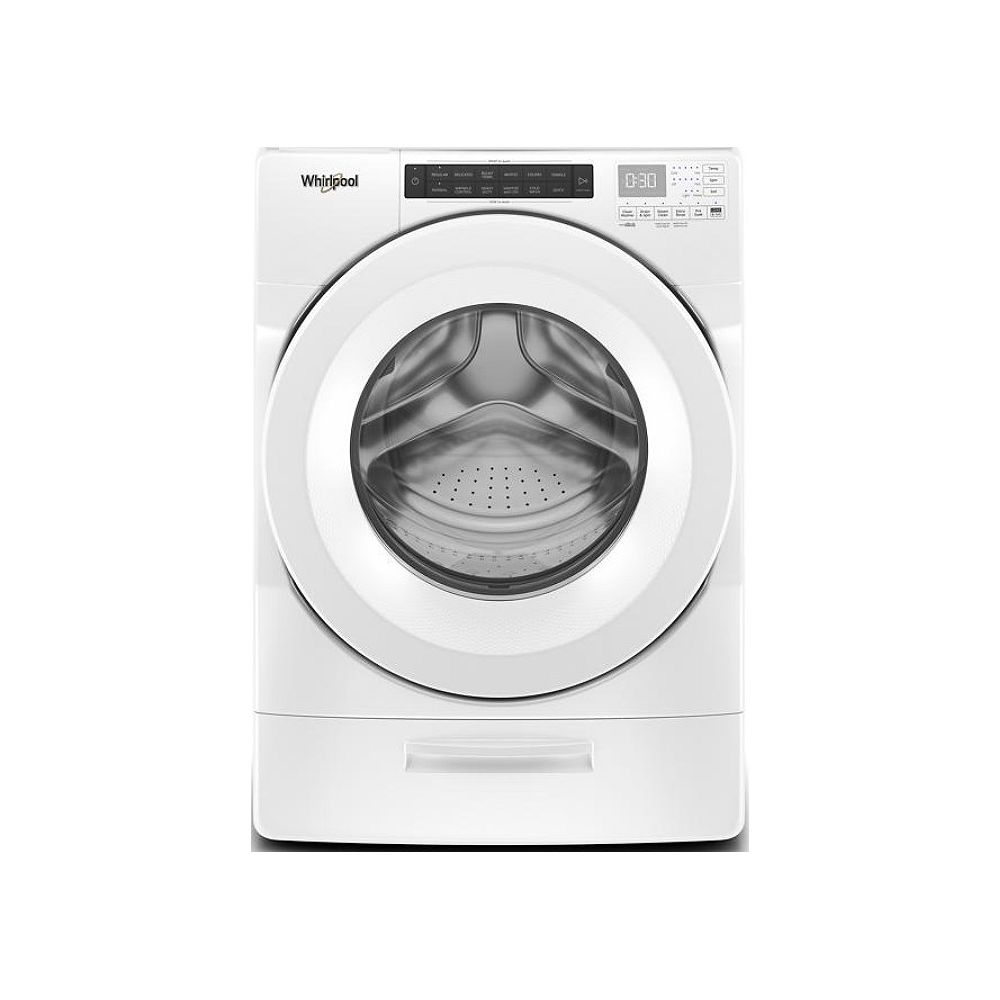Whirlpool 7.4 cu. ft. Front Load Electric Dryer in White, Closet-Depth - ENERGY STAR®