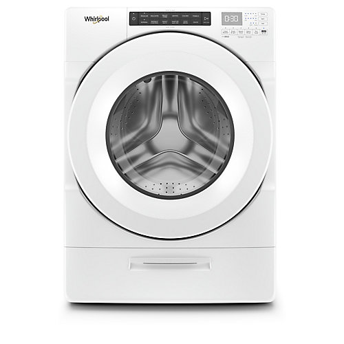 5.2 cu. ft. Front Load Washer in White with Load & Go, Closet-Depth - ENERGY STAR®