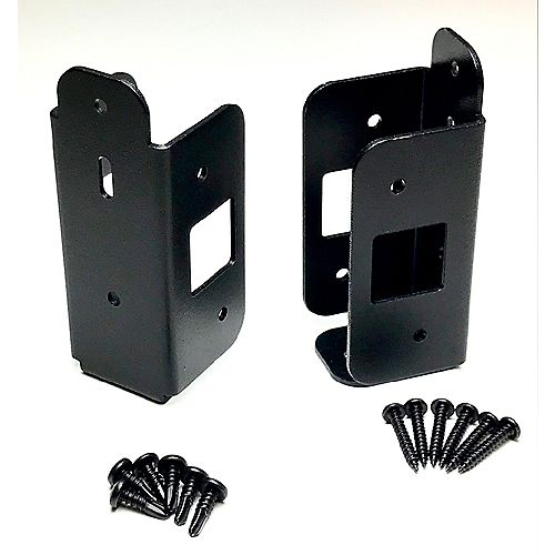 Traditional Bracket Kit - for wood rails on aluminum posts - 2 brackets per kit