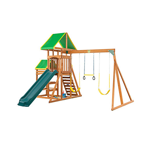 Woodlands Complete Wooden Playset