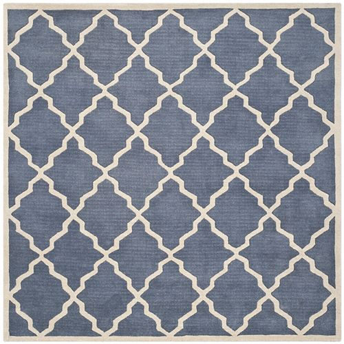 Safavieh Chatham Judy Grey 7 ft. x 7 ft. Indoor Square Area Rug