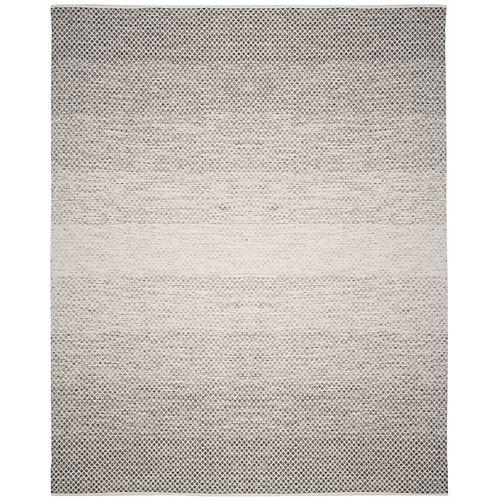 Tapis d'intérieur, 8 pi x 10 pi, Montauk Aimee, gris clair / ivoire